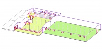 Warehouse Chotoviny Taborska 195 - inside layout 2.